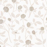 Caselio Serenity Beige and Gold Wallpaper - Product code: 100561132