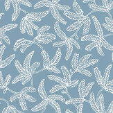 Caselio Cocoon Celestial Blue Wallpaper - Product code: 100576000