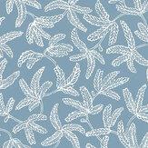 Caselio Cocoon Celestial Blue Wallpaper - Product code: 100576000