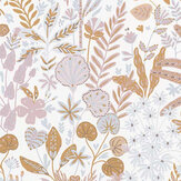 Caselio Hope Ochre and Blue-Grey Wallpaper - Product code: 100594811