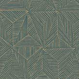 Casadeco Delta Forest Green Wallpaper - Product code: 84147520