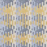 Casadeco Yana Blue / Yellow Wallpaper - Product code: 84166414