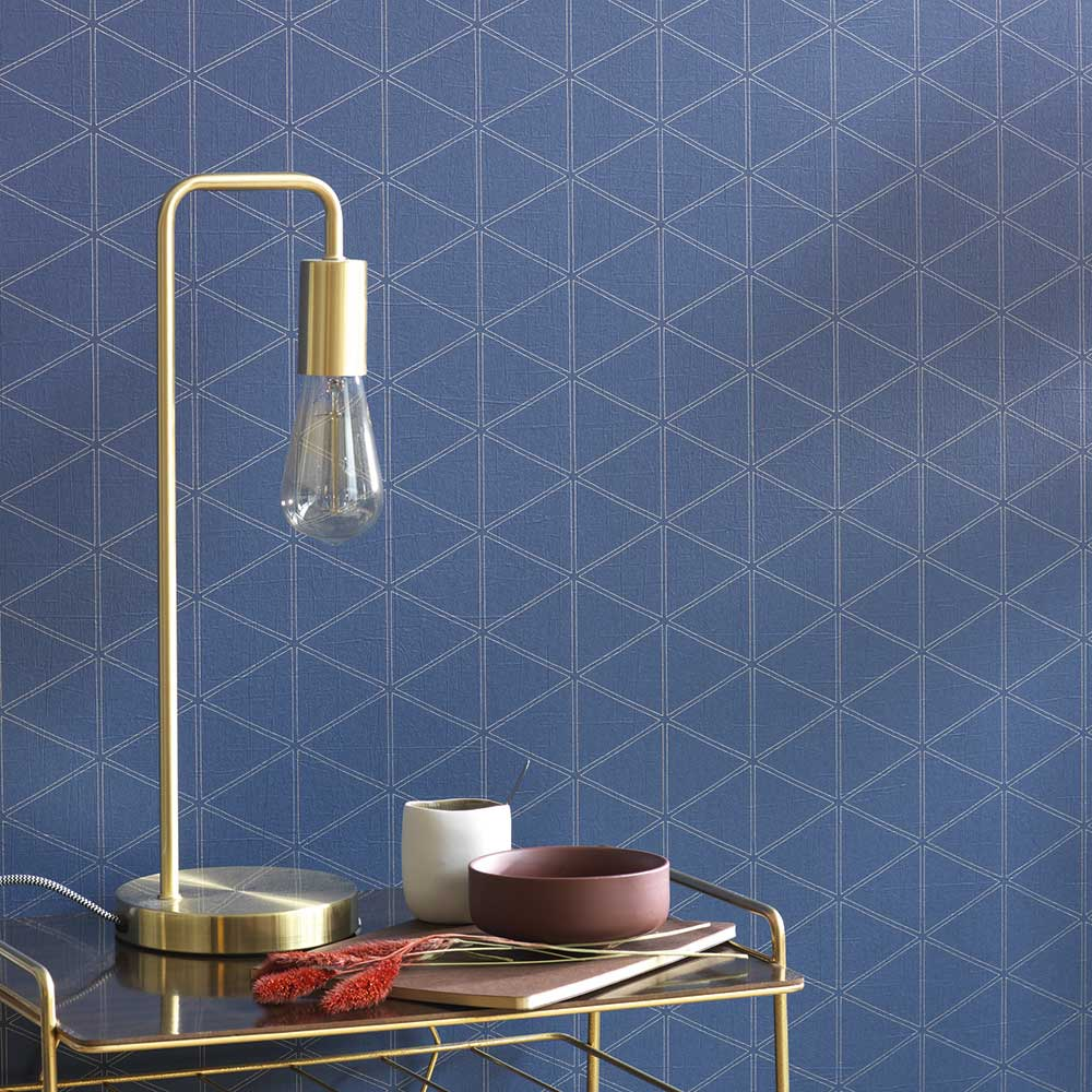 Casadeco Whisper Blue Wallpaper - Product code: 84176505