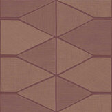Casadeco Stella Shine Bordeaux Wallpaper - Product code: 84188515