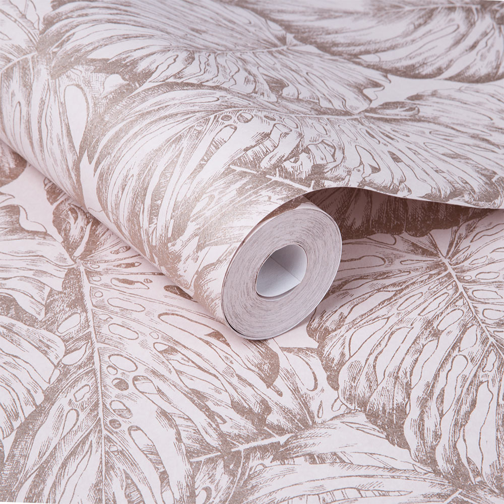 Graham & Brown Tropical Blush Wallpaper - Product code: 103767