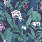 Graham & Brown Botanical Midnight Wallpaper - Product code: 103799