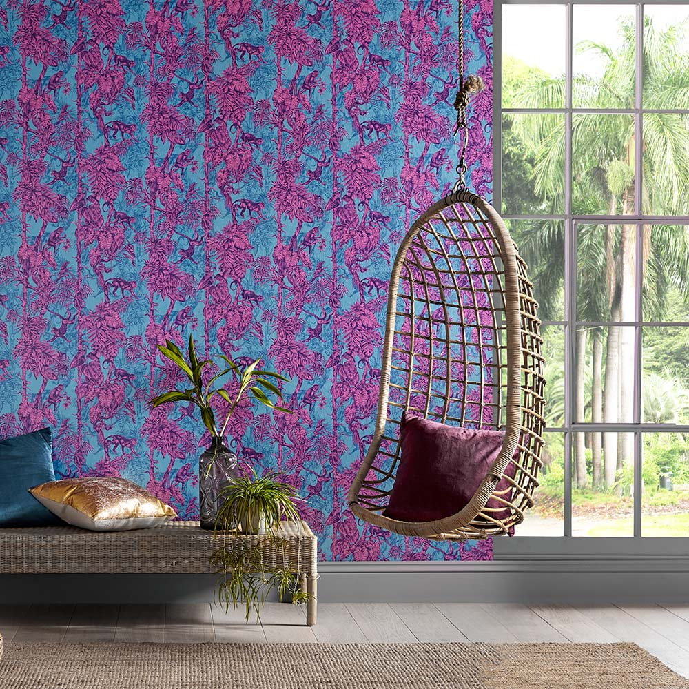 Graham & Brown Ubud Mayhem Wallpaper - Product code: 104276