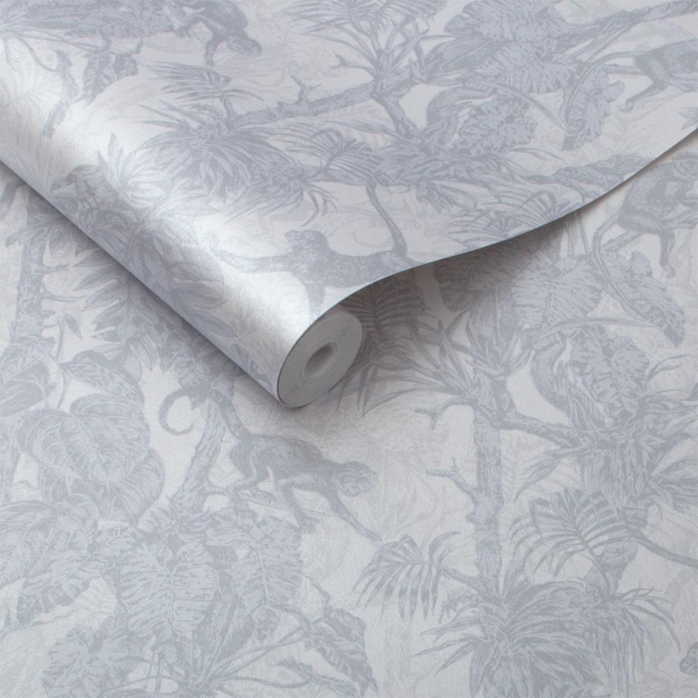 Ubud Wallpaper - Shimmer - by Graham & Brown