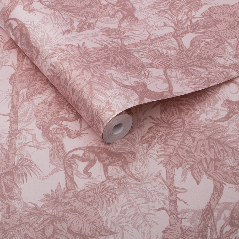 Graham & Brown Ubud Blush Wallpaper - Product code: 104280