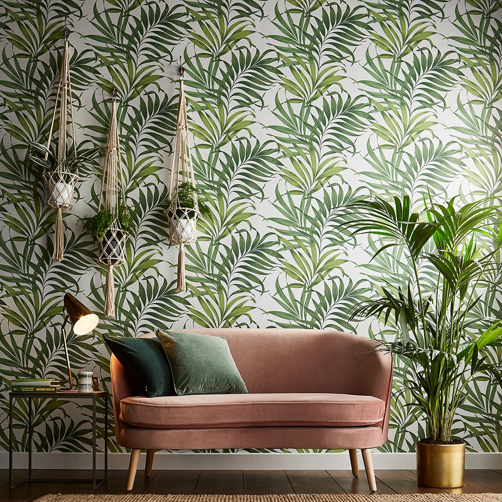 Graham & Brown Yasuni Lush Green Wallpaper - Product code: 105662