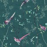Graham & Brown Tori Teal Wallpaper - Product code: 106390