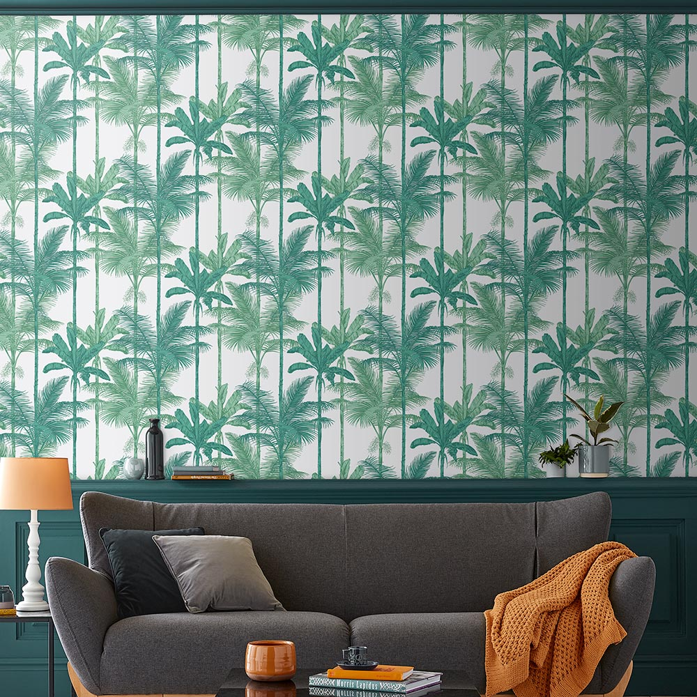 Graham & Brown Jungle Luscious Green Wallpaper - Product code: 105913