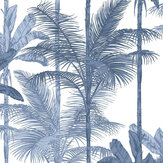 Graham & Brown Jungle Cobalt Wallpaper - Product code: 105914