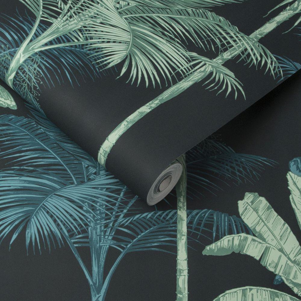 Graham & Brown Jungle Mood Green Wallpaper - Product code: 105916