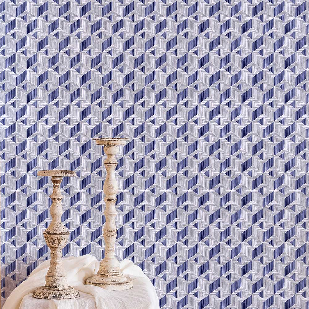 Coordonne Inca Navy Wallpaper - Product code: 8400012