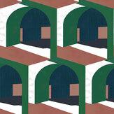 Coordonne Soller Green Wallpaper - Product code: 8400042