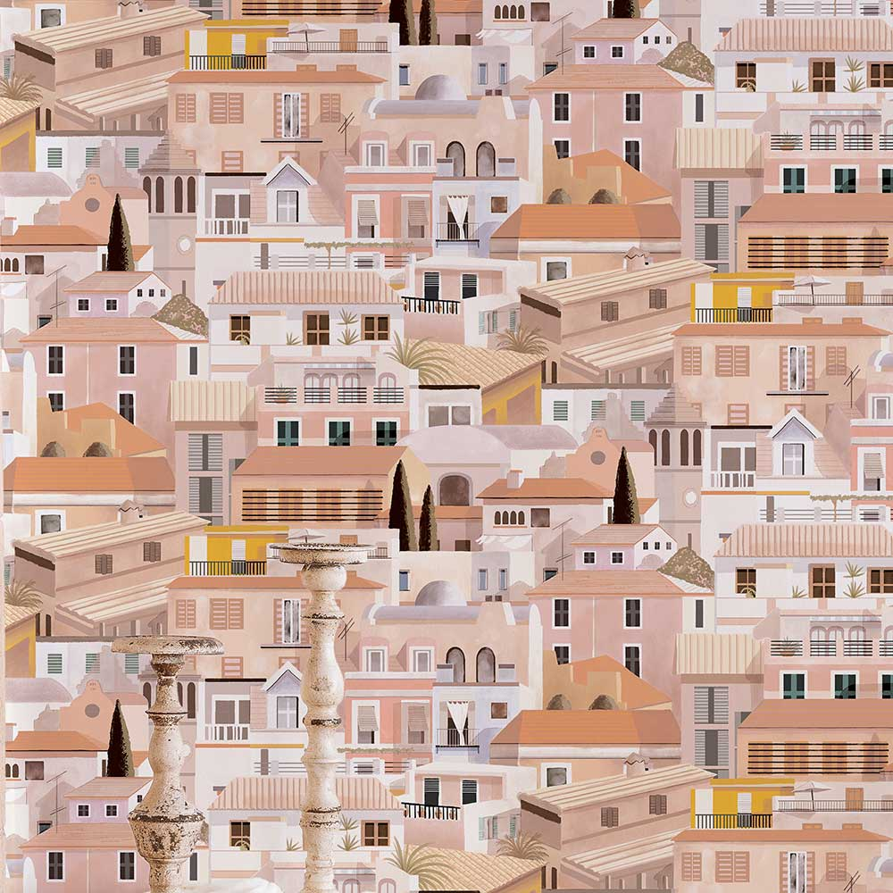 Valldemossa Wallpaper - Midday - by Coordonne
