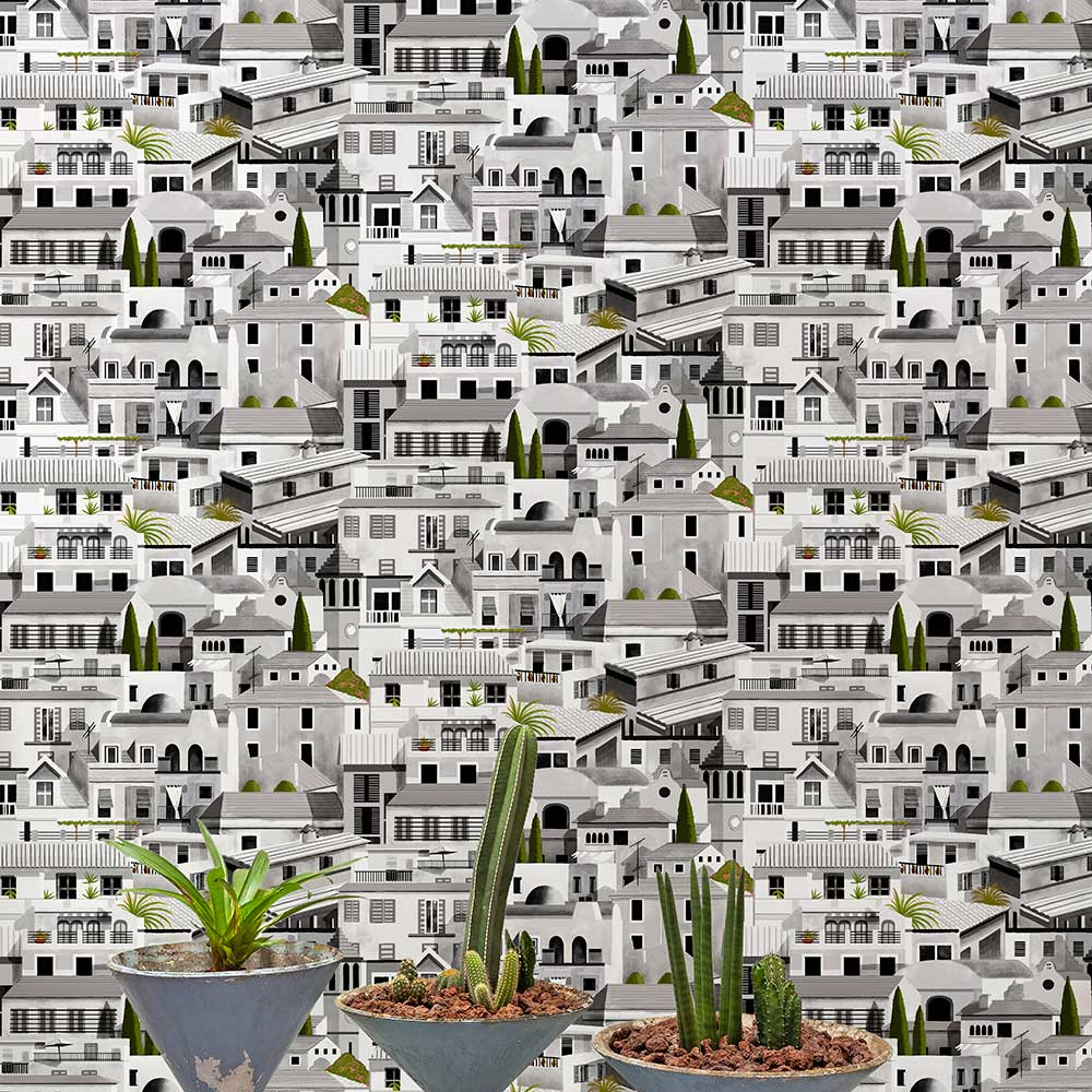 Valldemossa Wallpaper - Night - by Coordonne