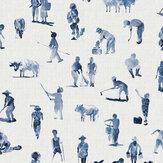Coordonne Sineu Indigo Wallpaper - Product code: 8400070