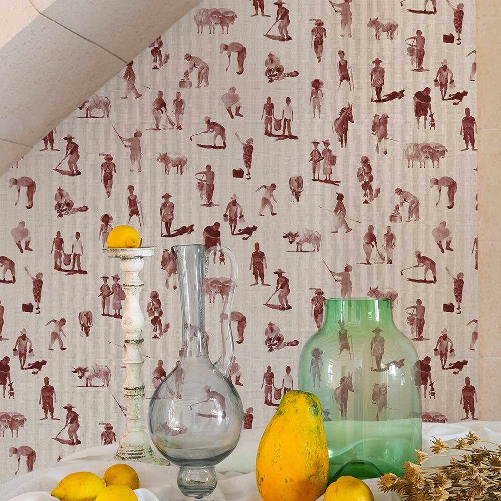 Coordonne Sineu Wine Wallpaper - Product code: 8400072