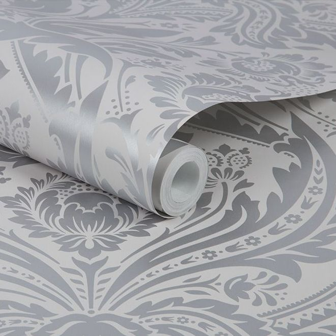 Graham & Brown Desire Silver Wallpaper - Product code: 103432