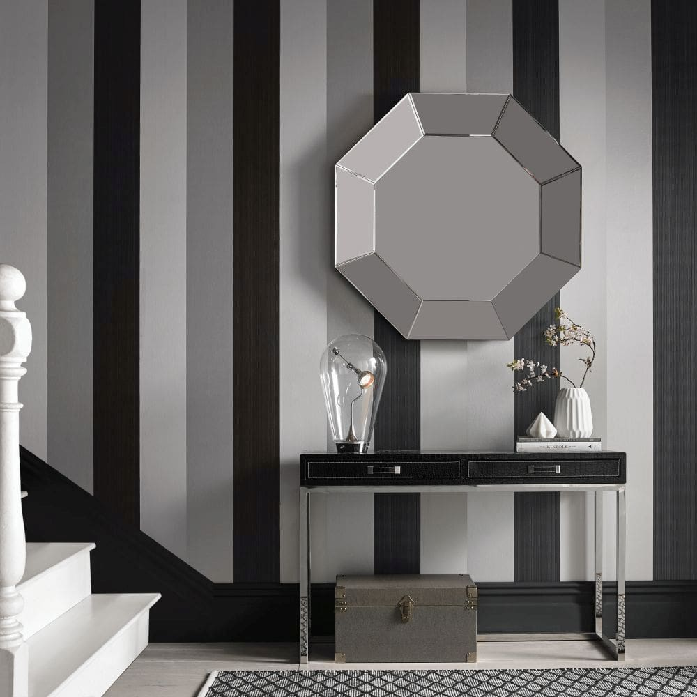 Graham & Brown Figaro Black Wallpaper - Product code: 103527