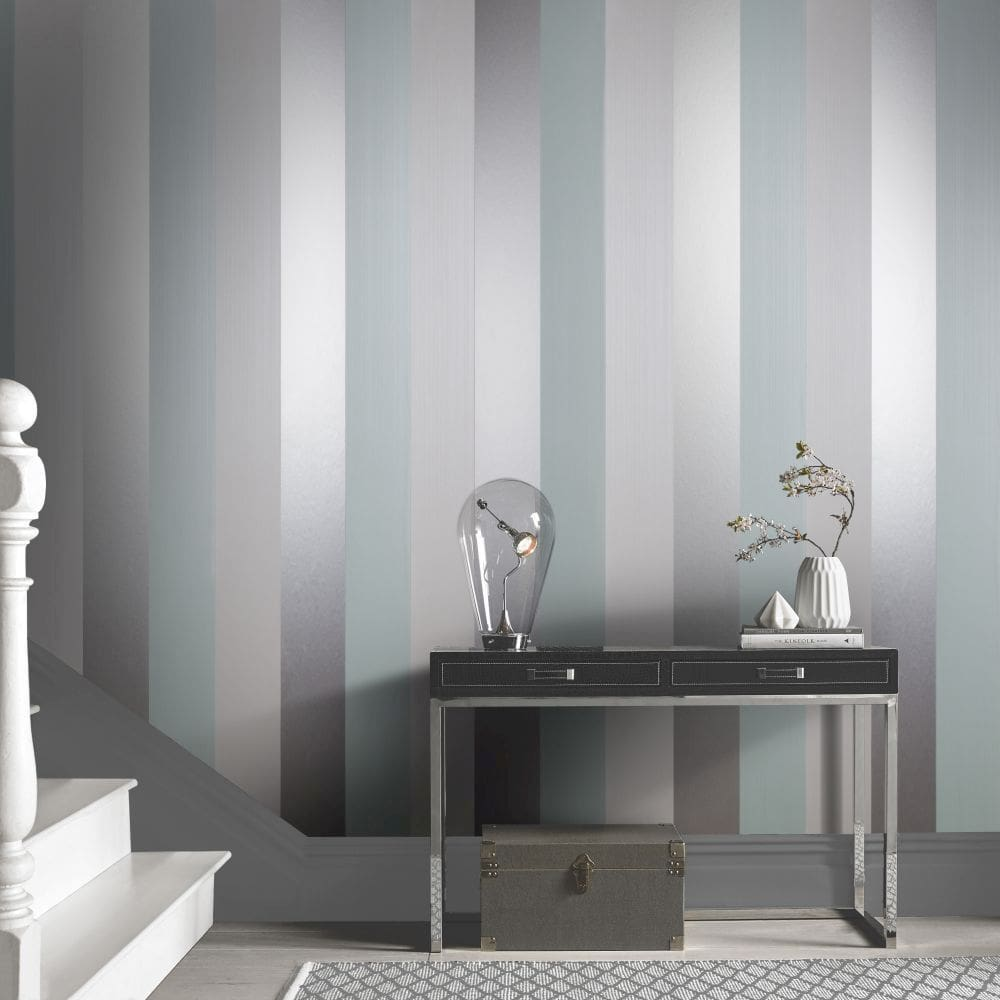 Figaro Wallpaper - Ocean - by Graham & Brown