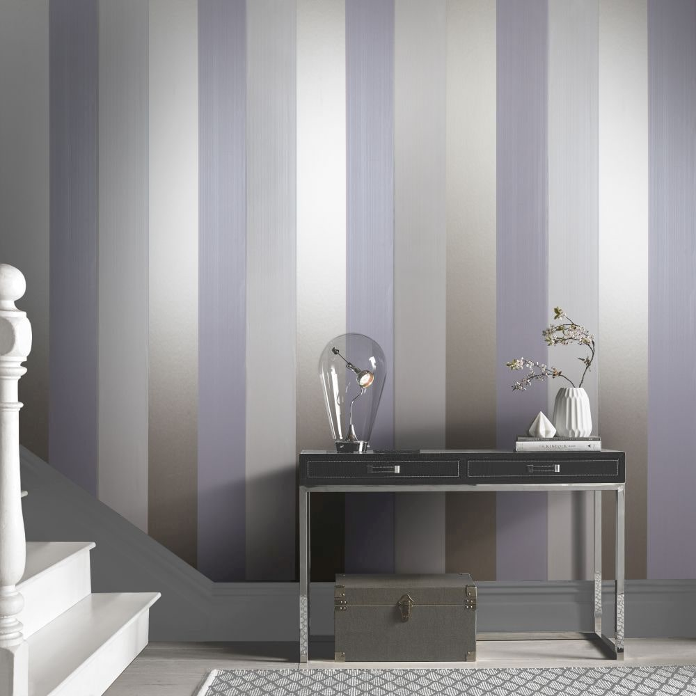 Graham & Brown Figaro Lavender Wallpaper - Product code: 103529