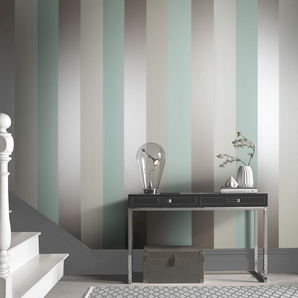 Graham & Brown Figaro Mint Wallpaper - Product code: 103531