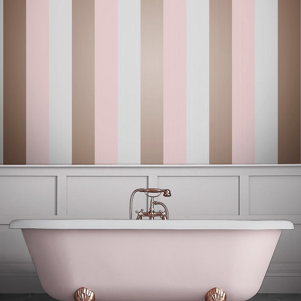 Graham & Brown Figaro Blush Wallpaper - Product code: 106349