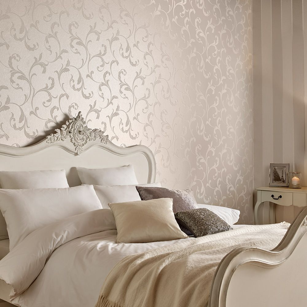 Graham & Brown Baroque Bead Pearl Wallpaper - Product code: 103816