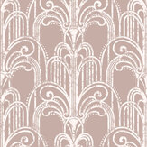 Graham & Brown Art Deco Rose Gold Wallpaper - Product code: 104298