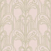 Graham & Brown Art Deco Blush Wallpaper - Product code: 105919