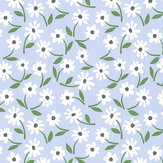 Layla Faye Little Flower Lunar Grey Wallpaper - Product code: LF1072