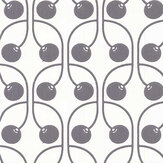 Layla Faye Cherry Monochrome Wallpaper - Product code: LF1073