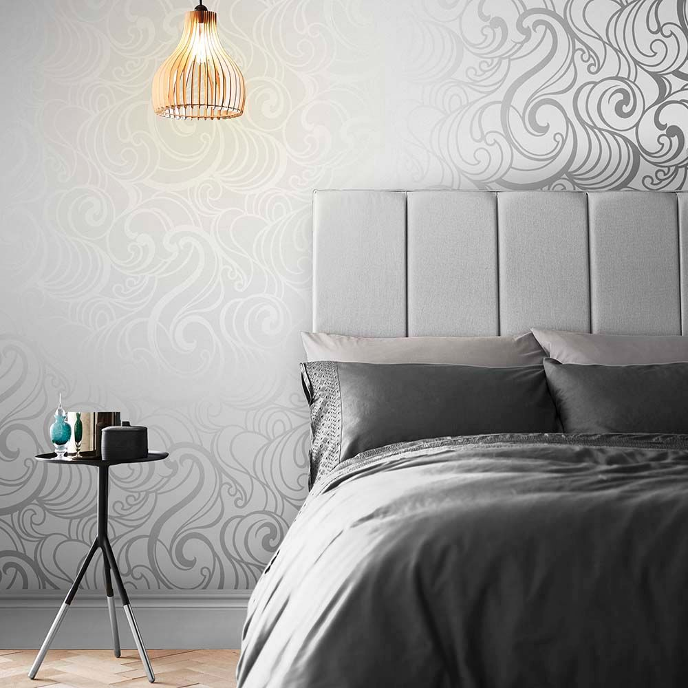 Graham & Brown Hula Swirl Ghost Wallpaper - Product code: 105271
