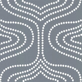 Layla Faye Whistle Dots Deep Marine Wallpaper - Product code: LF1080