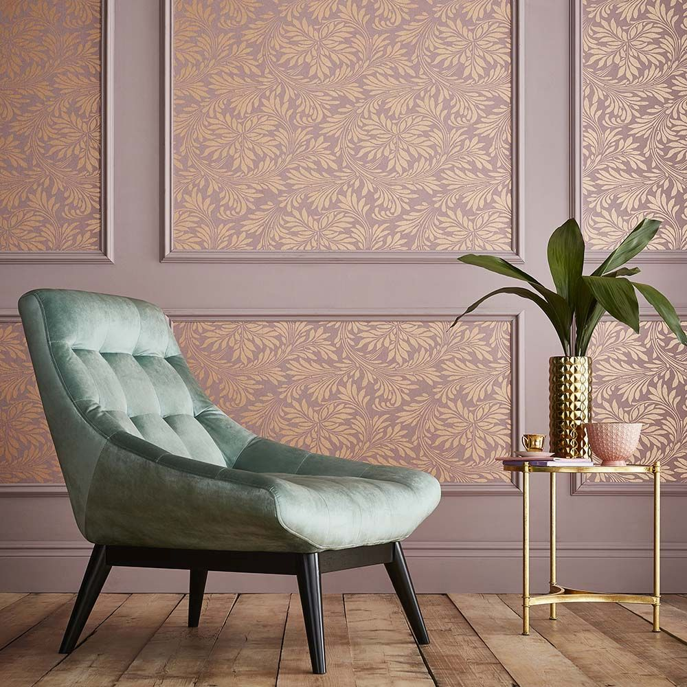 Graham & Brown Forest Spiced Mulberry Wallpaper - Product code: 105277