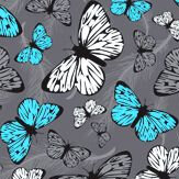 Hattie Lloyd Free to Fly Neon Azure Wallpaper - Product code: HLFTF04