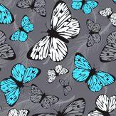 Hattie Lloyd Free to Fly Neon Azure Wallpaper - Product code: HLFTF04