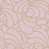 Graham & Brown Bananas Copper Blush Wallpaper - Product code: 105281