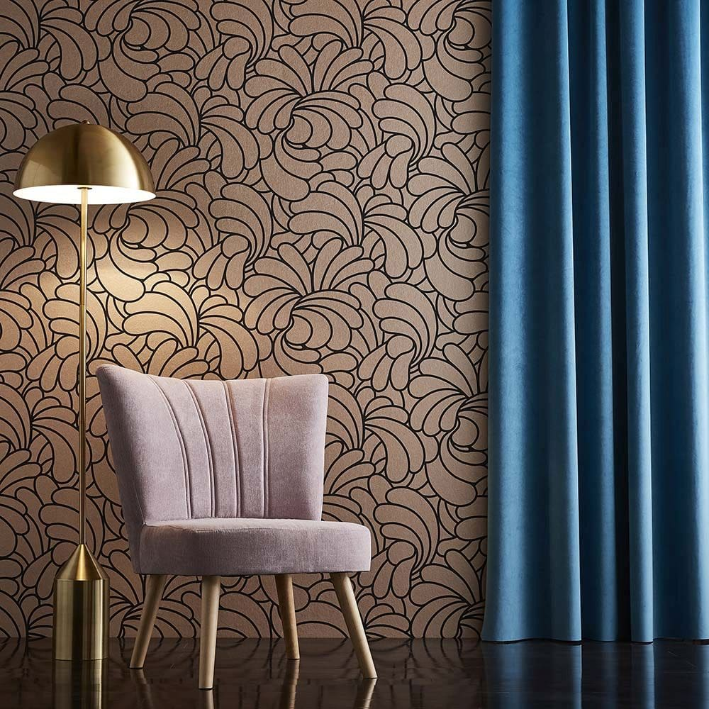 Bananas Wallpaper - Bling - by Graham & Brown