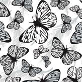 Hattie Lloyd Free to Fly Monochrome Wallpaper - Product code: HLFTF05