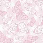 Hattie Lloyd Free to Fly Pretty Pink Wallpaper - Product code: HLFTF06