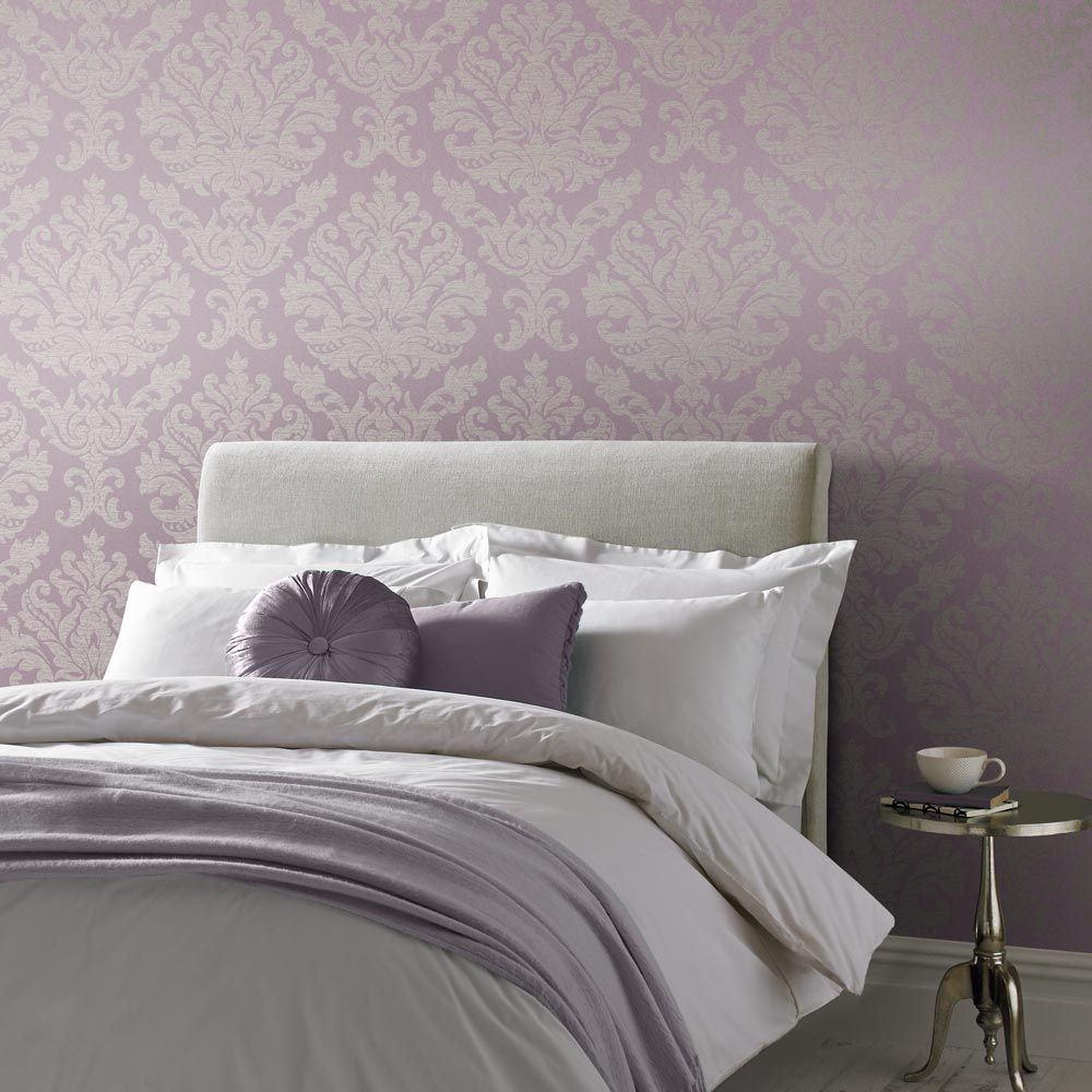 Antique Wallpaper - Lilac - by Graham & Brown