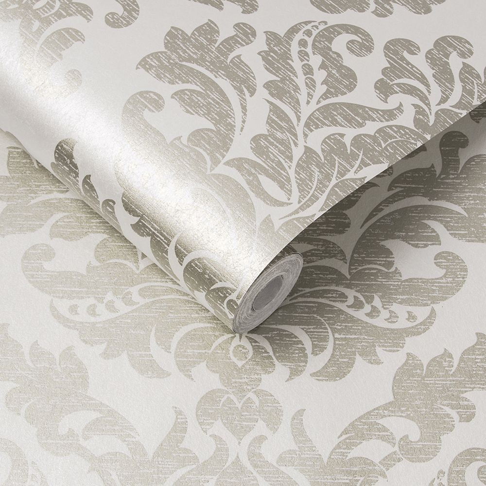 Antique Wallpaper - Ivory - by Graham & Brown