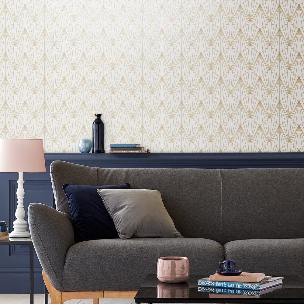Rene Wallpaper - Shimmer - by Graham & Brown