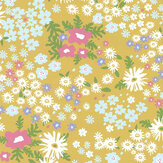 Layla Faye Keld Citrus Lime Wallpaper - Product code: LF1082