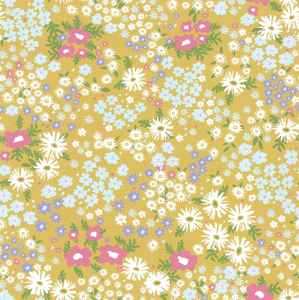Layla Faye Keld Citrus Lime Wallpaper - Product code: LF1082