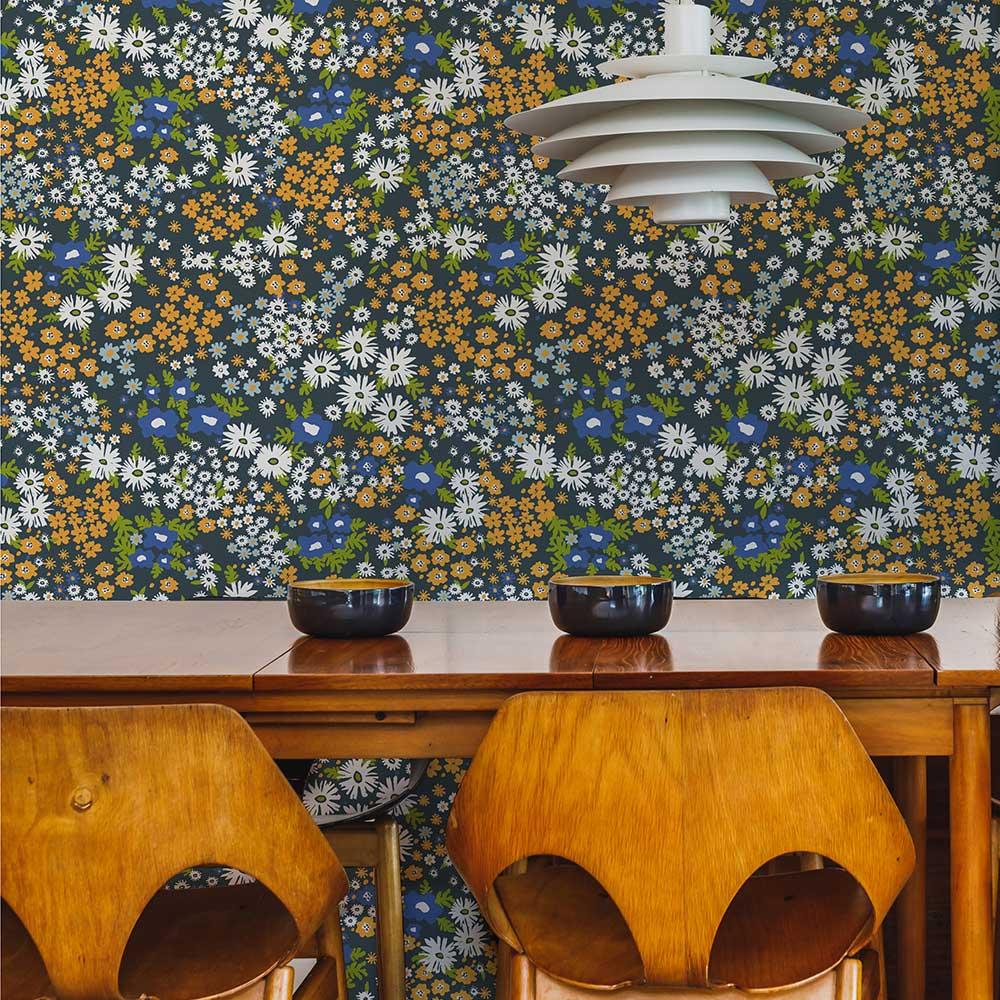 Layla Faye Keld Apricot Blend Wallpaper - Product code: LF1083